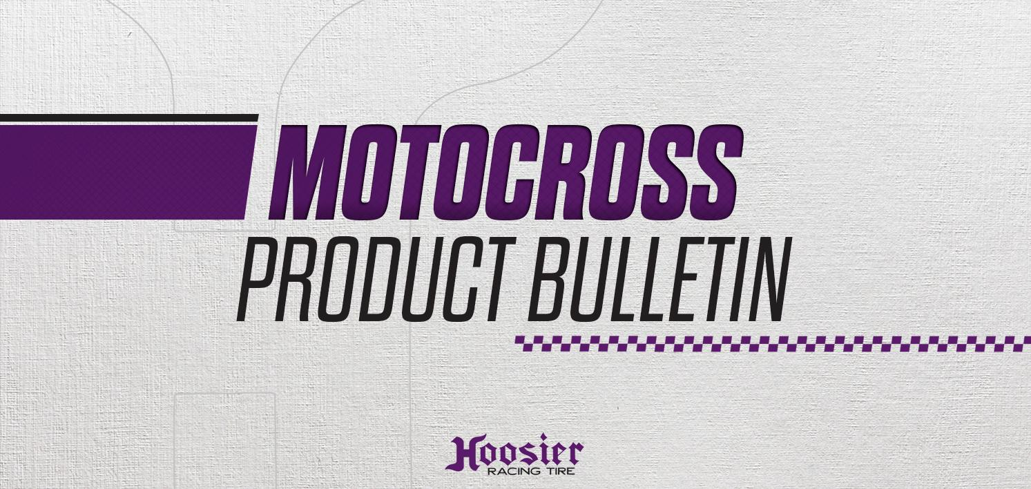 Hoosier Announces 60/100-50cc SR Front and 70/100-10 JR and SR Rear