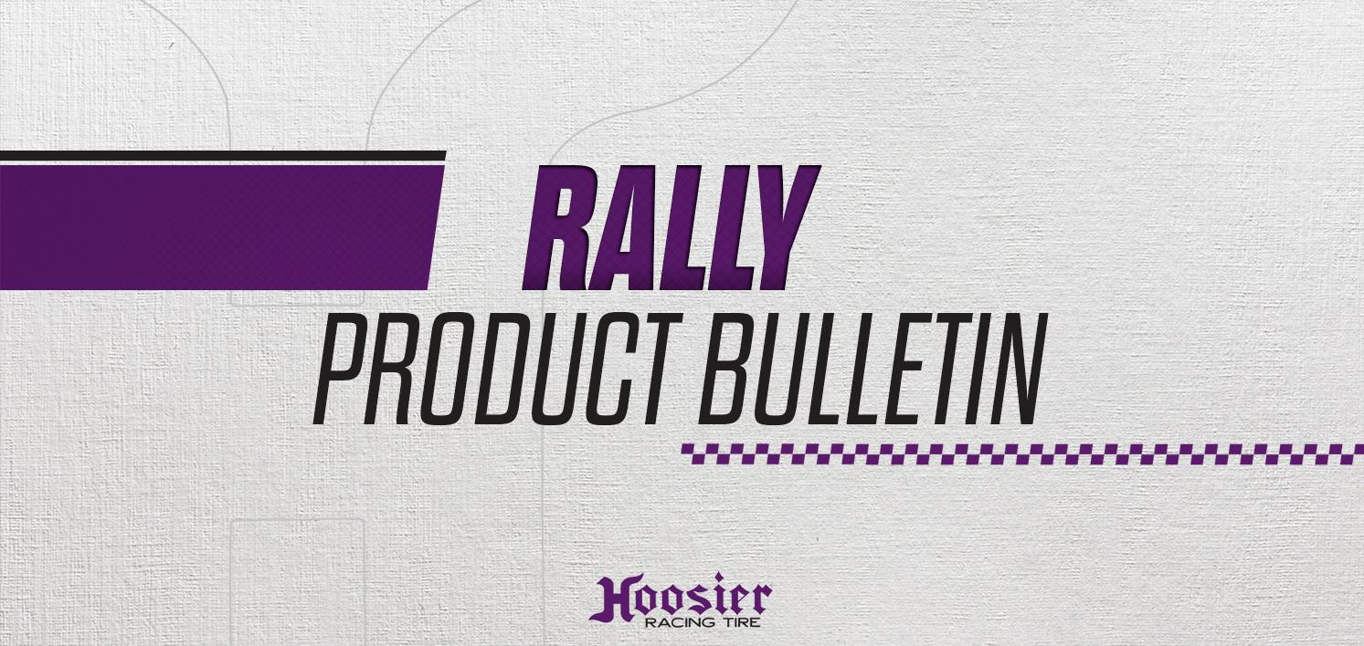 Gravel Rally Tire Product Bulletin