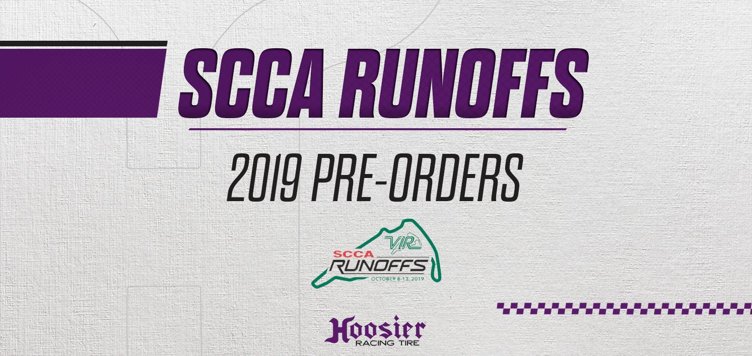 Pre-Orders For 2019 National Championship Runoffs