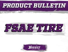Hoosier Introduces New FSAE Tire