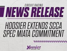 Hoosier Racing Tire Extends SCCA Spec Miata Commitment