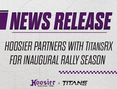 Hoosier Partners with TitansRX for Inaugural European Rallycross Season