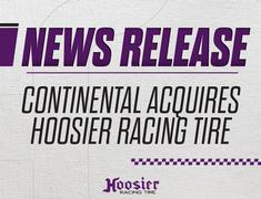 Continental Acquires Hoosier Racing Tire Corporation