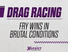 Fry Races to Win in Brutal Conditions