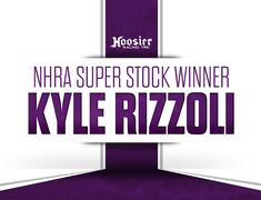 Kyle Rizzoli Earns NHRA Super Stock Win