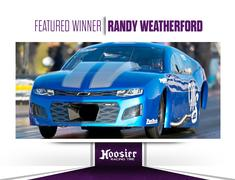 Weatherford Breaks 3.50-second barrier on Hoosiers
