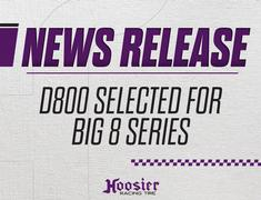 Hoosiers D800 selected for Big 8 starting in 2018