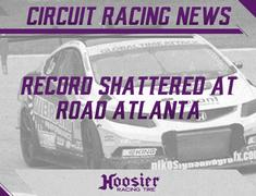 Record Shattered at Road Atlanta on Hoosier Tires