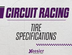Circuit Series Tire Specs