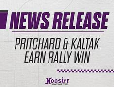 Hoosier Tire and Pritchard/Kaltak Earn First National Rally Win